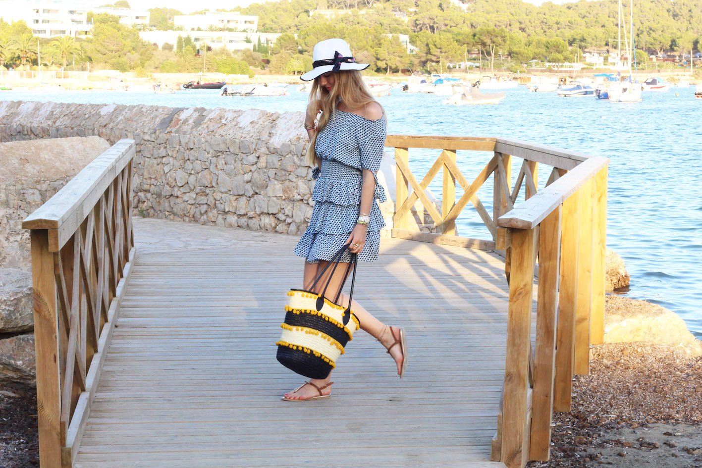 floortjeloves, how to transform your beach dress in a city look, how to, tootz, rosegal, topshop, arttique london, ibiza, beach dress