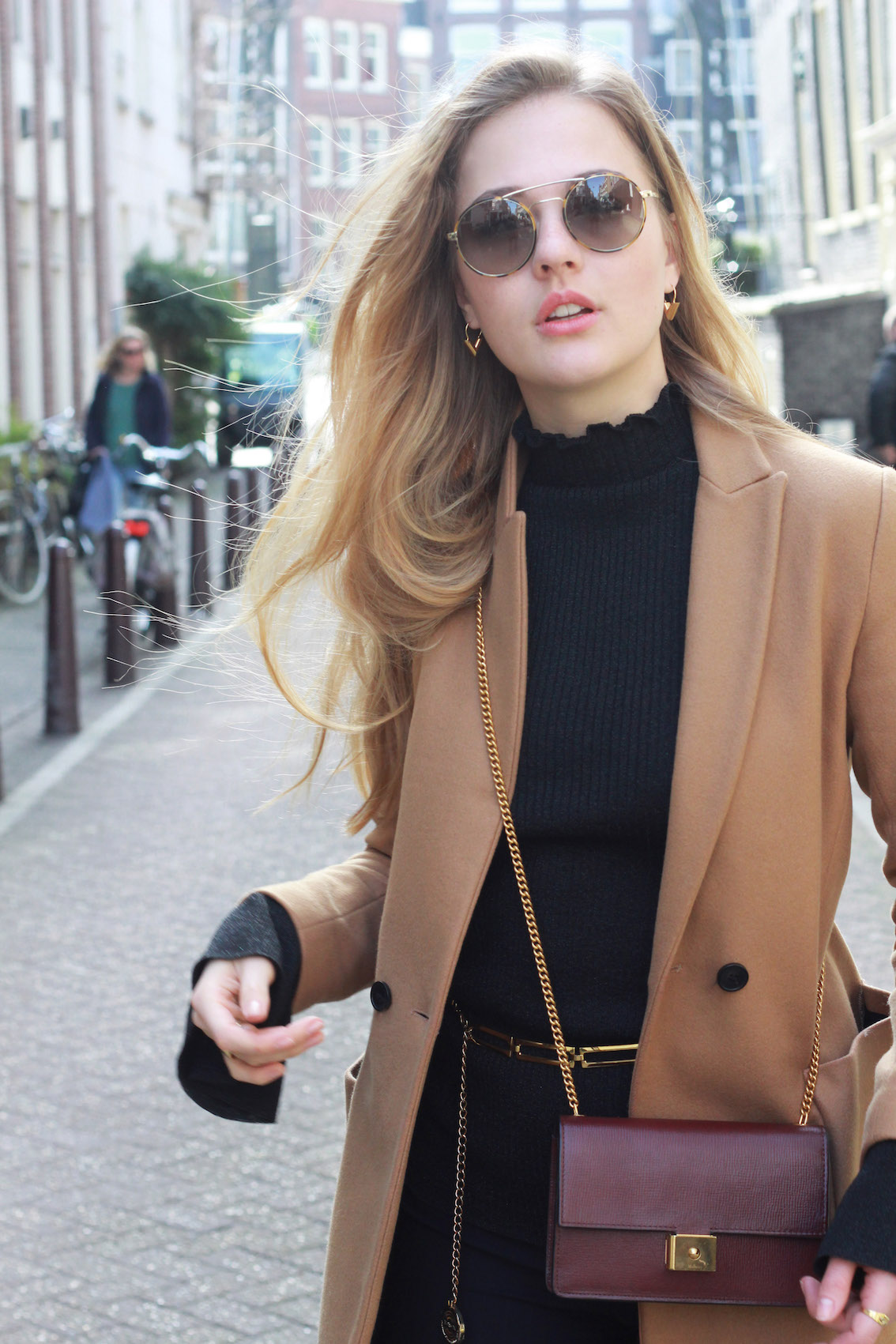 floortjeloves, HOW TO GET BACK ON TRACK WITH YOUR RESOLUTIONS, how to, how to keep track on your resolutions, how to keep track on your goals, new year's resolutions, goals, zara, camel coat, mulberry, mulberry bag, H&M, unisa, unisa shoes, prada, prada sunglasses