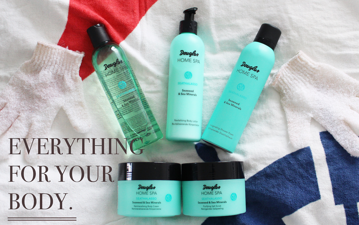 DOUGLAS HOME SPA SEAWEED & SEA MINERALS