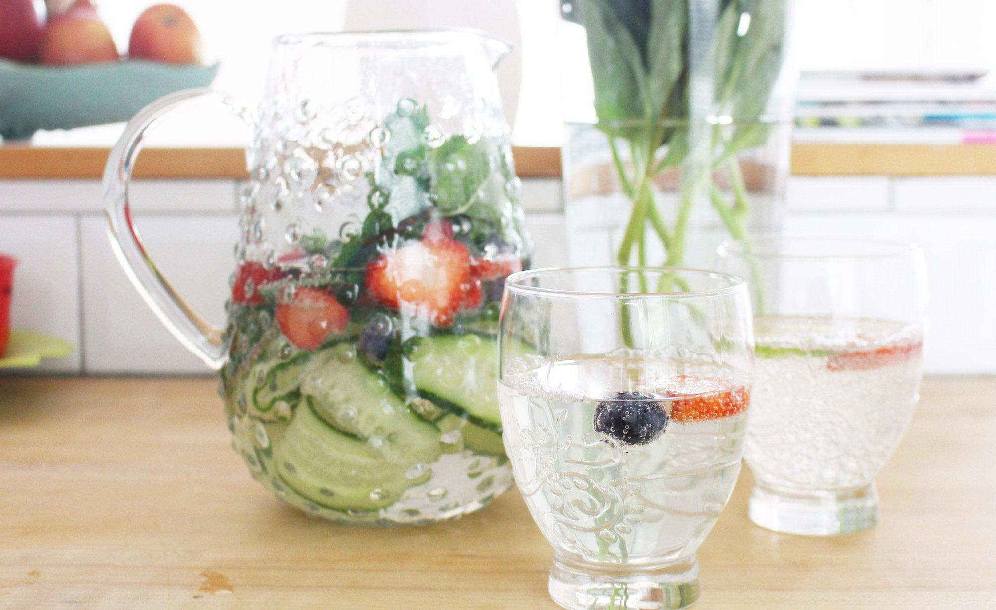 SPARKLING SUMMER WATER RECIPE