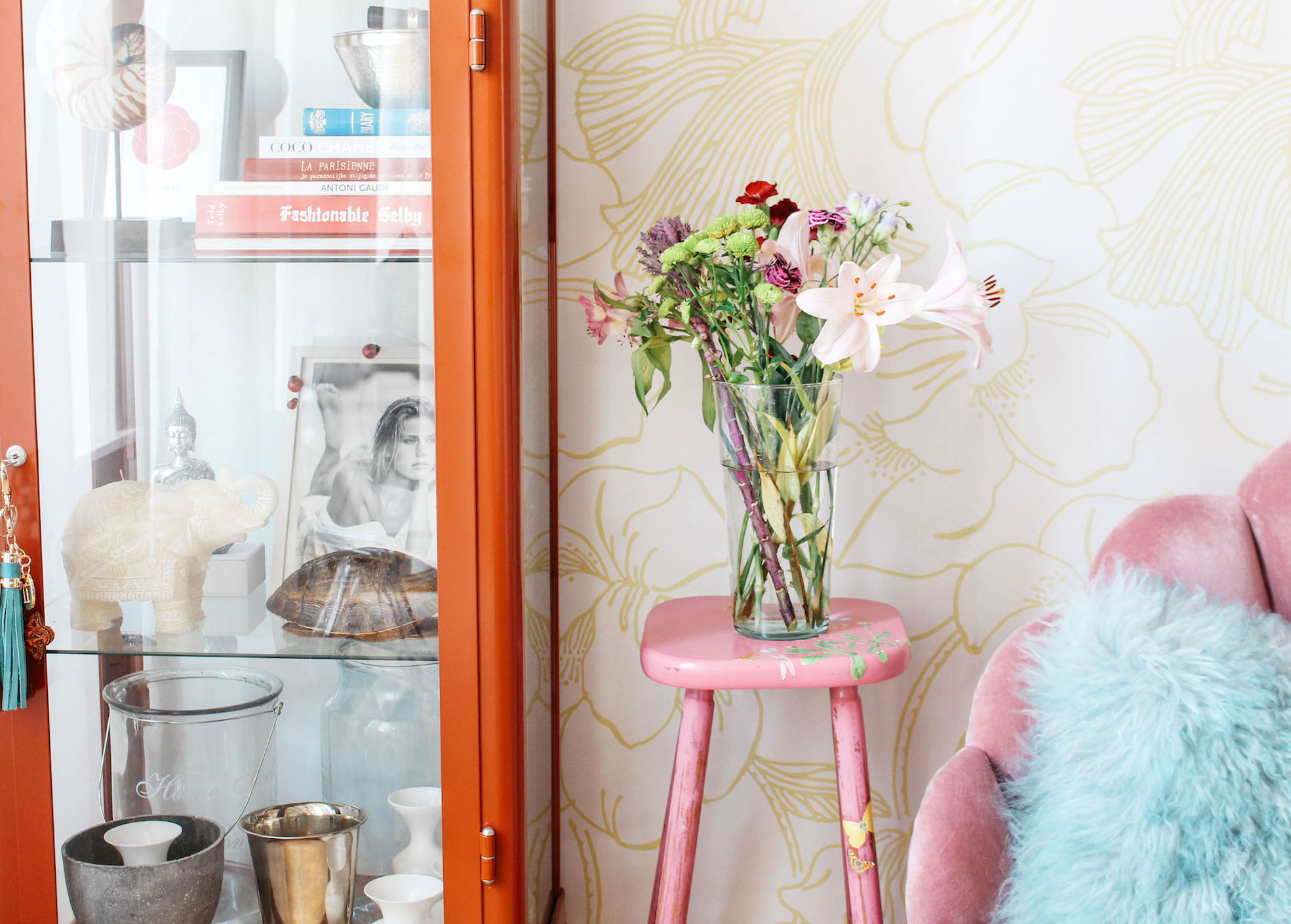 GOING FLORAL WITH FARROW & BALL