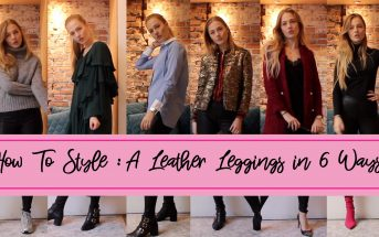 Floortjeloves, youtube, wicked grounds, how to, how to style, leather leggings, how to style a leather leggings, Zara, theory, y.a.s, Gucci, all, y