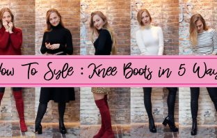 floortjeloves, youtube, how to, style, styling, how to wear, how to style, knee boots, AGL, Stuart Weitzman, how to style knee boots, how to style knee boots in 5 ways, wicked grounds