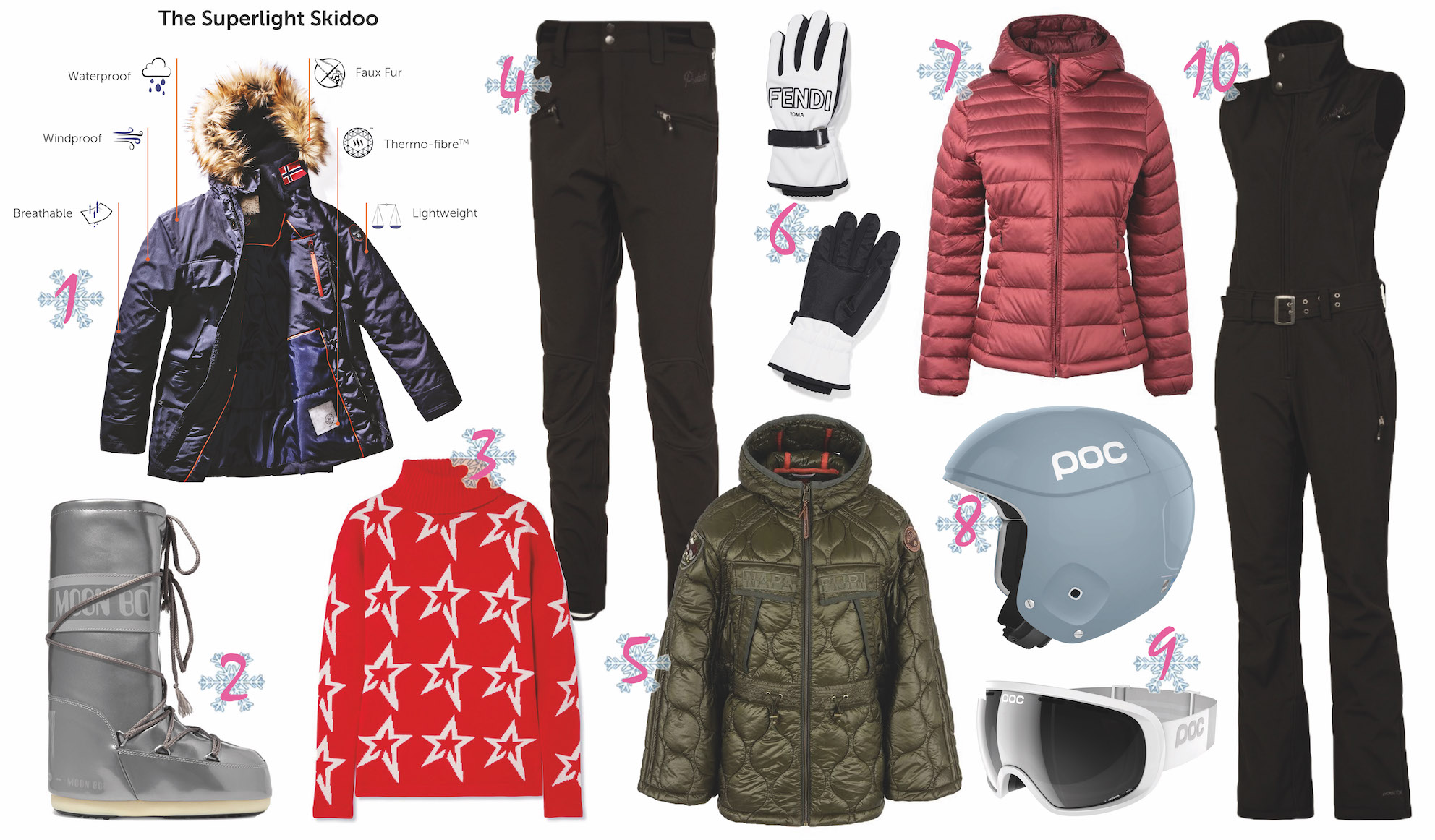 WINTER SPORT MUST HAVES