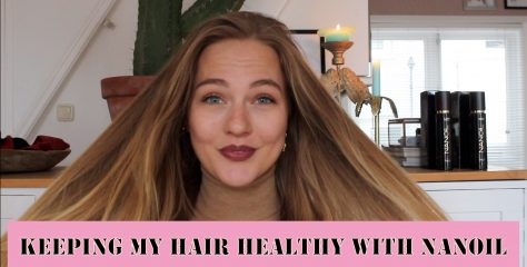 KEEPING MY HAIR HEALTHY WITH NANOIL