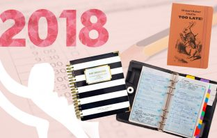 floortjeloves, agenda, agendas 2018, 2018