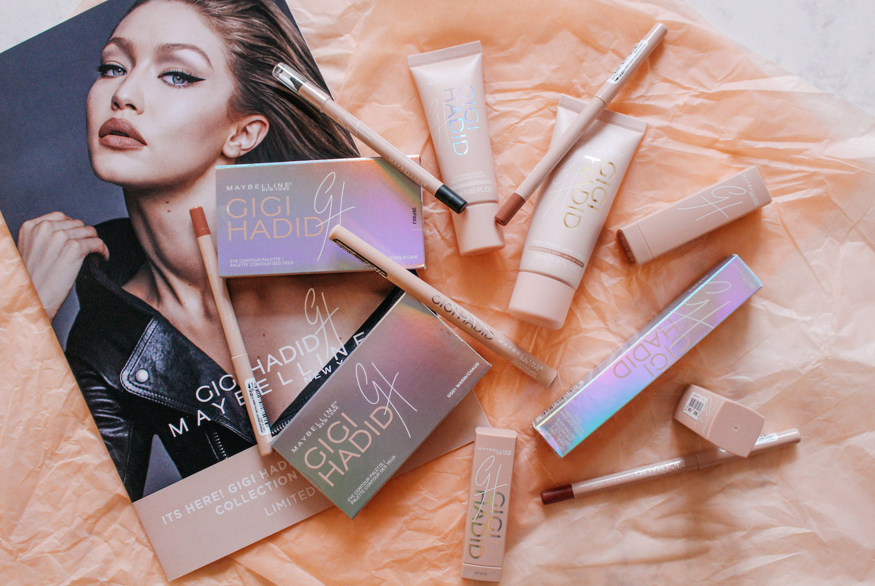 GIGI HADID X MAYBELLINE – COAST TO COAST COLLECTION