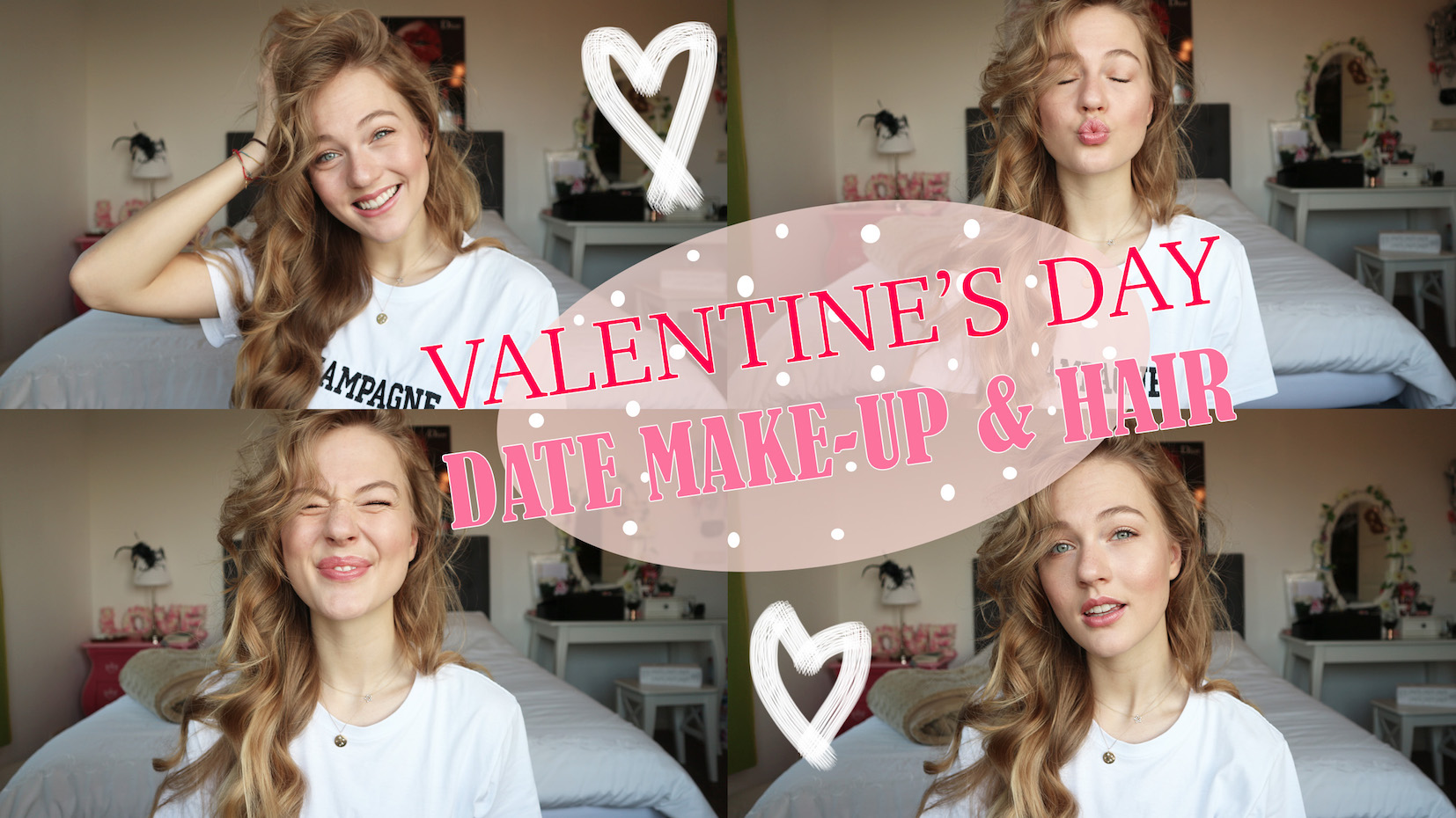 VALENTINE'S DAY DATE MAKE-UP & HAIR
