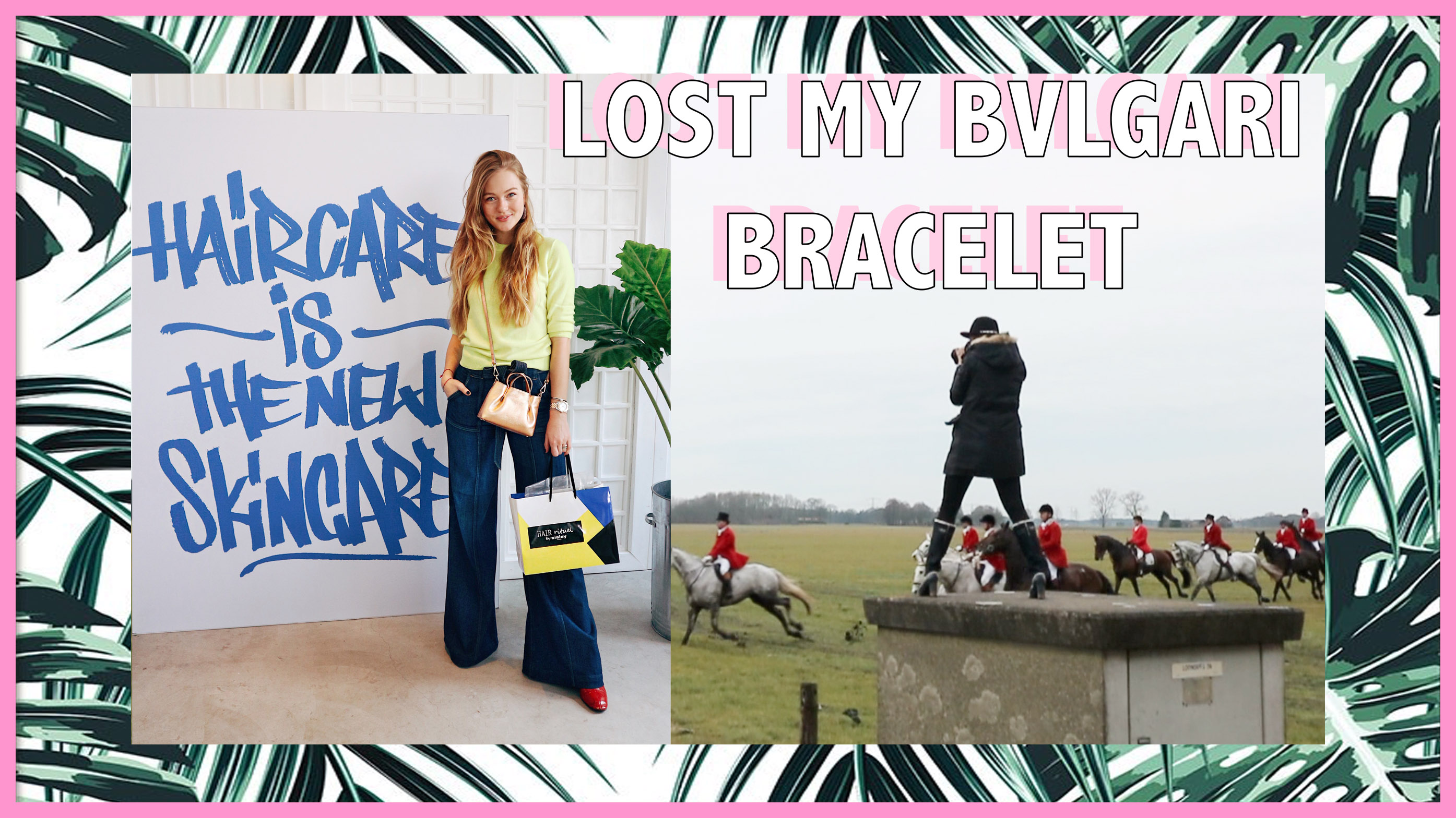LOST MY BVLGARI BRACELET – WEEKVLOG 70