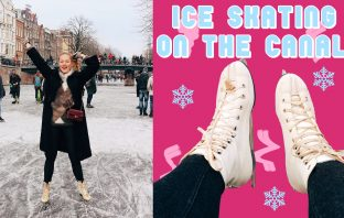 floortjeloves, ice skating, ice skating on the canals, amsterdam, Chanel, Coco mademoiselle intense, Arielle dannique, family