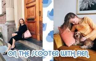 floortjeloves, fien, dachshund, scooter, on the scooter with Fien, weekvlog, amsterdam, lunch, easter, easter weekend, dog sitter, hairdresser, hair makeover, mom makeover