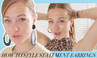 floortjeloves, statement earrings, statement, statement accessories, how to style, how to style statement earrings, earrings, jewelry, jewelry styling, fashion styling, summer styling