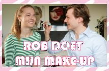 floortjeloves, challenge, does my make-up, brother does my make-up, broertje doet mijn make-up, rob doet mijn make-up, doet mijn make-up