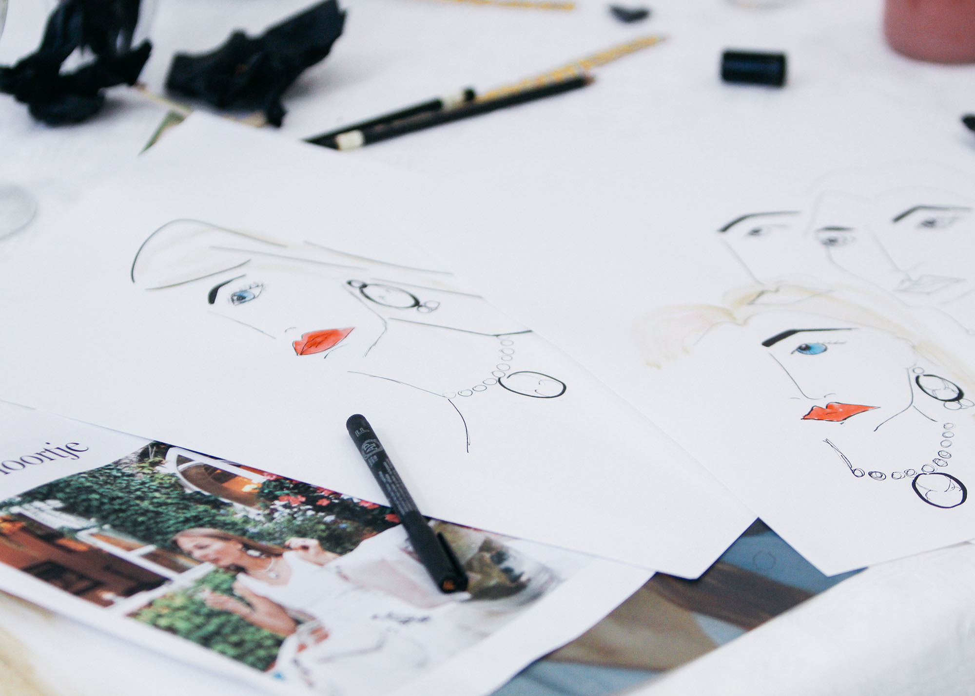 floortjeloves, evenement, event, bumble, illustration workshop, bumble illustration workshop, bumble bff, bumble bff illustration workshop, sella molenaar, illustratie, illustratie workshop, workshop, tekenen