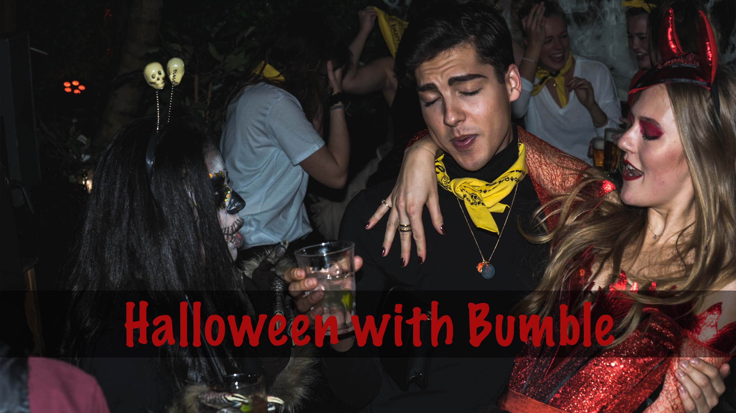 HALLOWEEN PARTY WITH BUMBLE