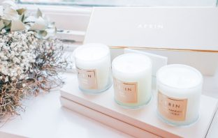 Aerin, candles, gift