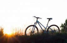 Sustainable living while riding a bike