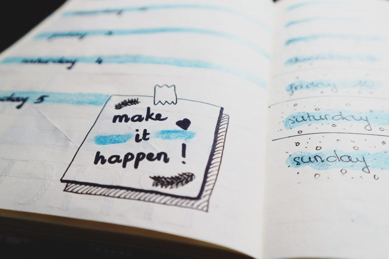 How to get good in planning out your life